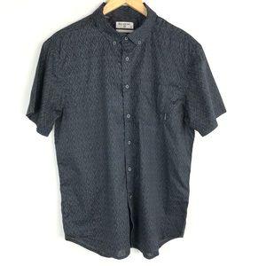 Billabong Stretch Button Down Patterned Shirt